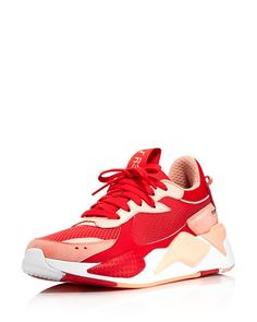 Women s RS Toys Leather   Mesh Low Top Sneakers 64785ba35