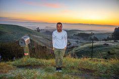 Amazing sunrise in newzealand