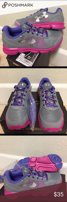 Selling this UNDER ARMOUR GPS SPEED SWIFT (1Y) GIRLS SHOES on Poshmark! My username is: jeieli. #shopmycloset #poshmark #fashion #shopping #style #forsale #Under Armour #Other