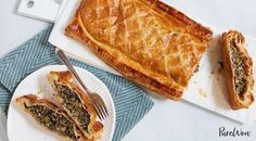 Vegetable Wellington with Mushrooms and Spinach - from PowWow - clean eating