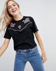 Womens t-shirts & vests   long sleeve t-shirts & camis   ASOS