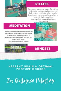 Join our course Healthy brain & Optimal Posture for ways to be productive and positive through post-concussion healing. Pilates Training, Race Training, Pilates Workout, Workouts, Foods For Brain Health, Healthy Brain, Healthy Eating, Plyometric Workout, Plyometrics