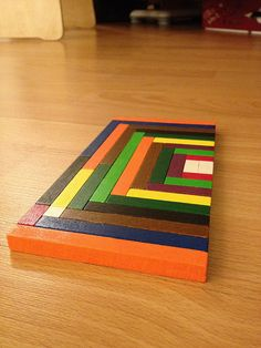 Cuisenaire Rods used to make a pattern | Flickr - Photo Sharing!