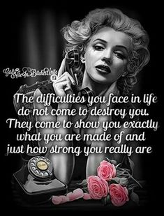 When losers call you at work and hang up as soon as you answer ☎ Bitch Quotes, Badass Quotes, True Quotes, Great Quotes, Inspirational Quotes, Motivational, Qoutes, Marilyn Monroe Tattoo, Marilyn Monroe Quotes