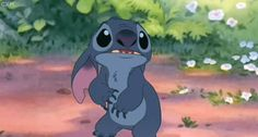 This breaks my heart! I wanna cry. Poor Stitch.