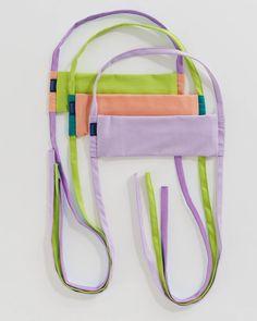 Fabric Mask Set - Meadow   BAGGU