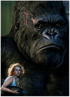 'King Kong' - And lo, the beast looked upon the face of beauty, and beauty stayed his hand. And from that day forward, he was as one dead.