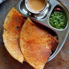 Jowar Recipes, Gf Recipes, Indian Food Recipes, Ethnic Recipes, Ragi Dosa, Peanut Chutney, Millet Recipes, Potato Tacos, Savory Crepes