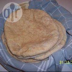 Recipe photo: Wholemeal Pitta Bread