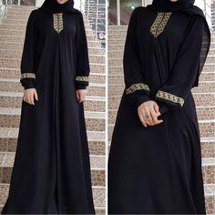 Women plus size print abaya jilbab muslim maxi dress casual kaftan long dress Abaya Fashion, Muslim Fashion, Ethnic Fashion, Dress Fashion, Women's Fashion, Abaya Mode, Mode Hijab, Abaya Designs, Muslim Dress