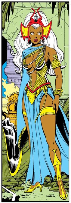 Comics, Webcomics, and other such Marvel Dc, Marvel Comics, Storm Marvel, Storm Xmen, Marvel Women, Marvel Girls, Comic Books Art, Comic Art, Black Panther Storm