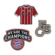 FC Bayern München Pin 3er Set FCB + Gratis Sticker München Forever, Anstecker, 引脚设置, jeu de broches, Conjunto Pin, alfiler Football Fans, Stickers, Gifts, Ideas, Gaming, Fc Bayern Munich, Presents, Favors, Thoughts