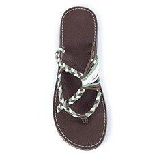 21aa665f937f3c Casual Breathable Bandage Flat Sandal Flat Sandals