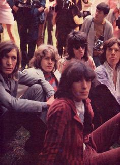 Charlie Watts, Mick Taylor, Keith Richards, Mick Jagger and Bill Wyman