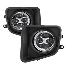 ( Spyder ) Toyota Tundra 2014-2016 Daytime DRL LED Running Fog Lights w/Switch - Clear