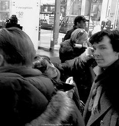 cute Sherlock/ Benedict gif