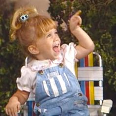 Mary-Kate Olsen as Michelle Tanner on Full House