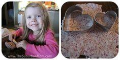 Homemade Playdough Valentine's Day Kid's Craft | TheSuburbanMom