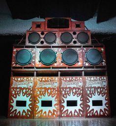 Rudimentario Sound System - Sant Adriá de Besos - Cataluña. Marshall Speaker, Reggae, Speakers, Dj, Urban, Life, Kisses, Loudspeaker