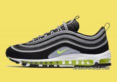 Nike Air Max 97 OG Black And Volt-Metallic Silver-White Latest