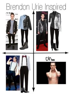 """Brendon Urie Inspired"" by whitetiger25 on Polyvore featuring Frame, AMI, Converse, H&M, Misha Nonoo, The Row, Trafalgar, Lanvin, LE3NO and Pierre Balmain"