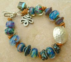 5 Fish Designs - Handmade Sterling Silver Jewelry & Borosilicate Lampwork