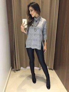 Swans Style is the top online fashion store for women. Shop sexy club dresses, jeans, shoes, bodysuits, skirts and more. Chic Outfits, Fall Outfits, Fashion Outfits, Fashion Trends, Look Fashion, Girl Fashion, Autumn Winter Fashion, Womens Fashion, Elegant Outfit