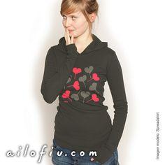 """""""Love"""" hoodie by ailofiu tees"""
