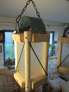LAMPA SUFITOWA WISZĄCA - wood-gallery - Lampy sufitowe