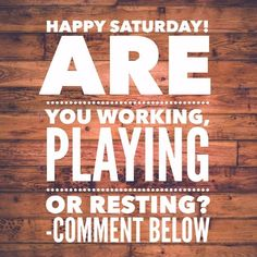 Happy Saturday! Are you working playing or resting?? Comment below. #LaPinkCourier #KimTHolmberg