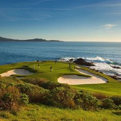 Tag 3 friends who you want to take with you on your next round at #PebbleBeach. #GolfGetaways #BuddyTrip 📷 Joann Dost