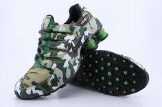Image Detail for - Nike Shox NZ Mens Running Shoes Camo Green [Nike Shox NZ Mens 015] - $ ...