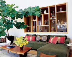 Uma árvore cabe em qq lugar  fonte: decoração elle