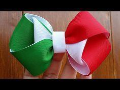 Ribbon Hair Clips, Diy Hair Bows, Diy Bow, Diy Ribbon, Ribbon Crafts, Ribbon Bows, Ribbons, Baby Girl Bows, Girls Bows