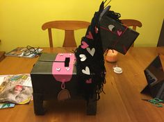 Horse Valentines Day Box- This was my daughter's Valentine's Day box this year. It was fun to make with her!