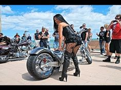 Daytona Bike Week 2014 Boardwalk Bikes, Bikers and Babes  #DaytonaBikeWeek #DaytonaBikeWeek2014