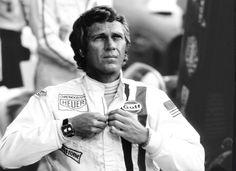 Tag Heuer Monaco 1970. Racing was dangerous, Sex was safe.