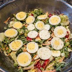 Grandma Evert's Garbage Salad Recipe