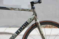 Beautiful Bicycle: Kevins Cinelli Mash Track Bike