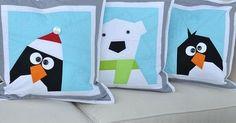 Greetings from Antarctia cushions