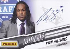 #Ryan #Williams #Autographed #AZCardinals #Rookie #Panini 5x7 #Photo with Proof Photo of Signing! #Arizona #Cardinals #AZ #Cards #NFL #Signed #Football, #Collectibles #Free #Shipping Click Here for Arizona Cardinals #Autographed #Collectibles: http://autographedwithproof.com/collections/nfl-arizona-cardinals