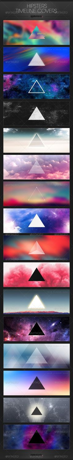 Hipster Facebook Timeline Covers #GraphicRiver Hipster Facebook Timeline Covers zip includes: 15 editable psd files and information.txt file; Size 851×315 px; free font used: information inside main zip file psd files includes my artwork; check also my 2014 calendar (same style!) in my portfolio;