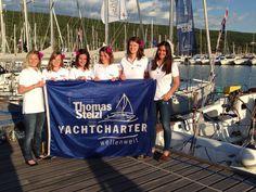 Stelzl Yachtcharter wünscht euch Mädels alles Gute beim Austria Cup!
