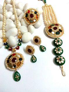 royal navratan with emerald