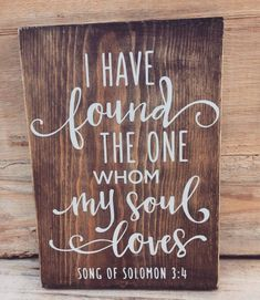 I have found the one my soul loves wedding wood sign love wood sign hand painted wood sign wedding gift gallery wall rustic wedding DIY Wood Signs Gallery Gift Hand Love Loves Painted Rustic Sign Soul Wall Wedding Wood Love Wood Sign, Rustic Wood Signs, 3d Laser Printer, Painted Wood Signs, Hand Painted, Wood Wedding Signs, Rustic Church Wedding, Funny Wedding Signs, Wedding In The Woods