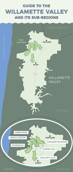 A Guide to the Willamette Valley