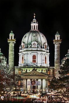 Karlskirche - Wien, Austria
