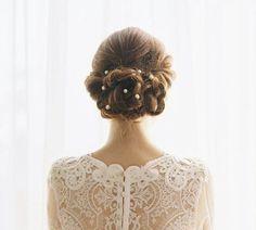 15 penteados com coque perfeitos para noivas no verão | Casar é um barato - Blog de casamento
