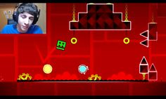 Favij e Gianfrancesco su Geometry dash