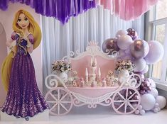 Find My Event Planner Rapunzel Birthday Party, Birthday Party Themes, Themed Parties, Pretty Little Girls, Childrens Party, Balloons, Aurora Sleeping Beauty, Birthdays, Instagram